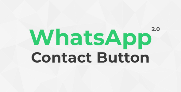 WhatsApp Contact Button 2.0
